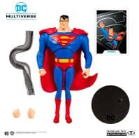 DC Multiverse Animated- Superman (The Animated Series) - 7 Inch Action Figure
